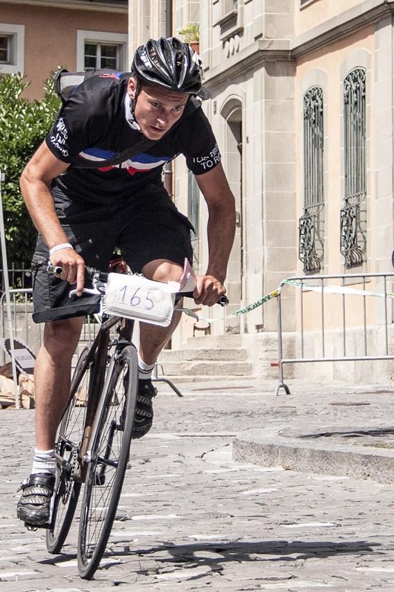 Mainrace des CMWC 2013 (Cycle Messenger World Championship) à Lausanne.