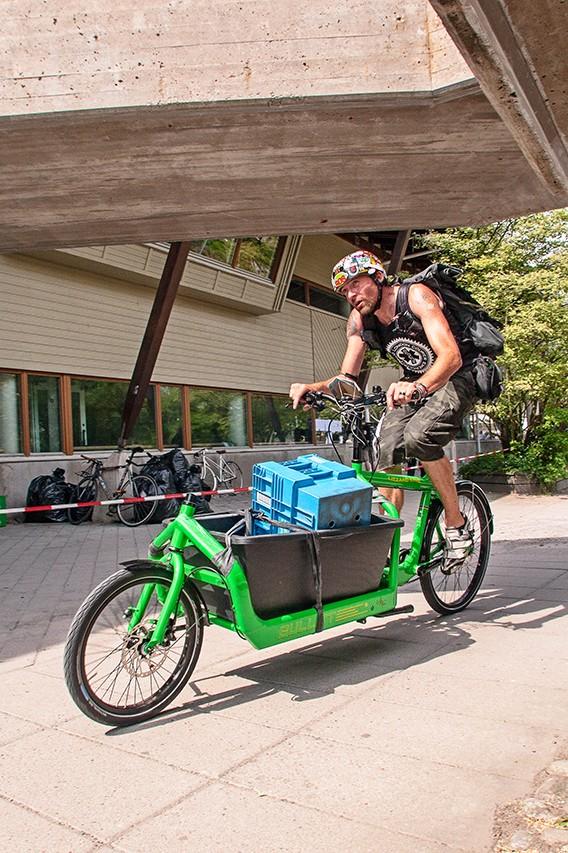 Cargo-race des ECMC 2014 à Stockholm.