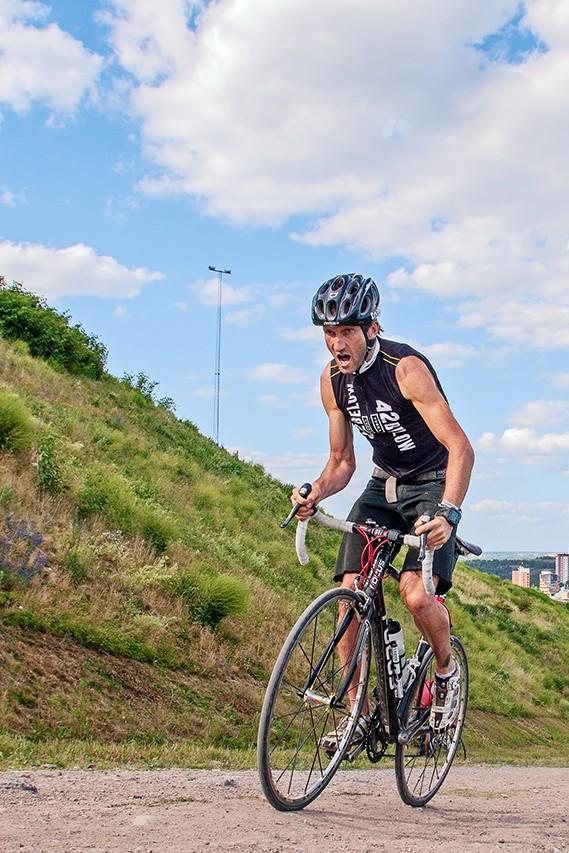 Uphill sprint des ECMC 2014 à Stockholm : Angus Edmond vainqueur du uphill sprint